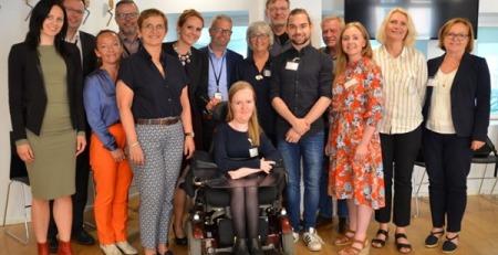 Bilde av deltagerne på rundebordsmøtet