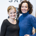 Celina Hagen og Sunniva Ørstavik