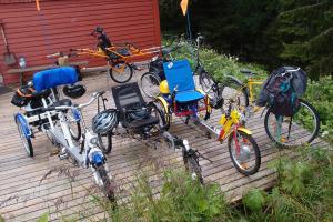 Tilrettelagte sykler